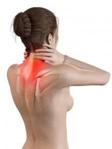 Halswirbelarthrose: Schmerzen in den Halswirbeln