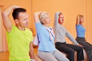 Übungen bei Arthrose im Halswirbelbereich