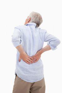 Mann Rückenschmerzen