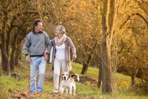 Spazieren gehen Osteoporose