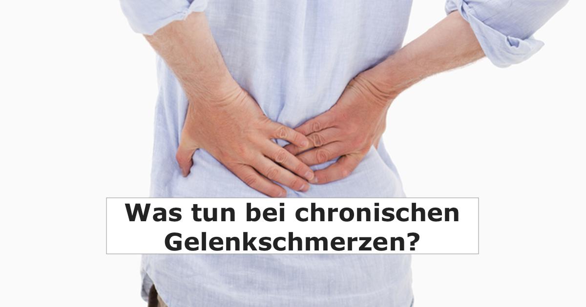 Was tun bei chronischen Gelenkschmerzen? | Bewegen ohne