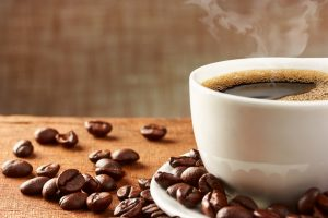 Kaffetasse-Gelenke