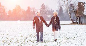 warmhalten- Spazierengehen-winter