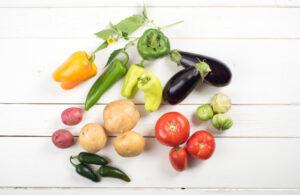 Nachtschatten-Gemüse